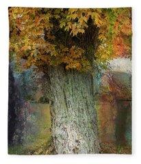 This Old Tree Fleece Blanket