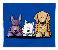 Three Dog Night Fleece Blanket