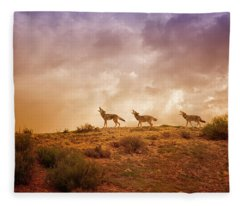 Three Part Harmony Fleece Blanket
