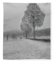 Three Sentinals Fleece Blanket
