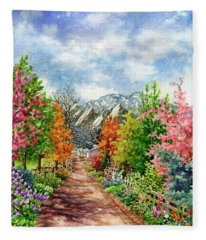 Through All Seasons Fleece Blanket