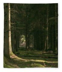 Through Fleece Blanket