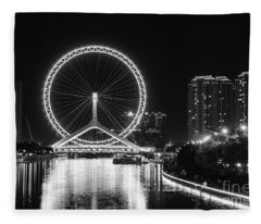Tianjin Eye Fleece Blanket