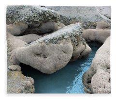 Tidal Pool 1 Fleece Blanket