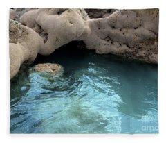 Tidal Pool 2 Fleece Blanket