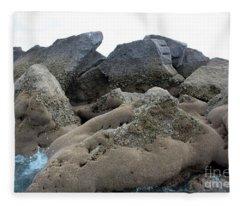 Tidal Pool 3 Fleece Blanket