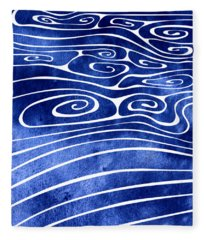 Tide Xvi Fleece Blanket