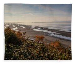 Tide's Out Fleece Blanket