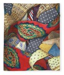 Tie One On Fleece Blanket