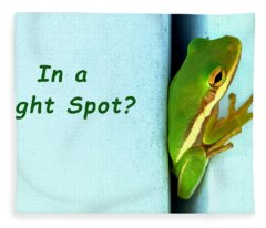 Tight Spot Fleece Blanket