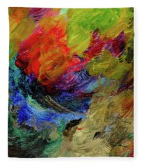 Time Changes Fleece Blanket