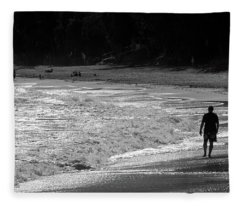 Time To Reflect Fleece Blanket