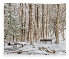 Tinker's Creek Fleece Blanket