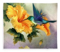 Tiny Wings Fleece Blanket
