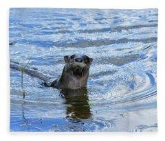 To My Otter Amazement Fleece Blanket