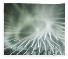 Tokyo Lights IIi Fleece Blanket