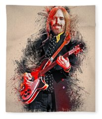 Tom Petty - 35 Fleece Blanket