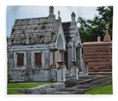 Tombs And Graves Fleece Blanket