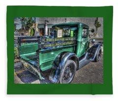 Tom's Electric Truck Fleece Blanket