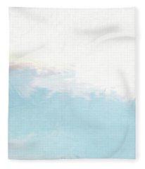 Top Left Panel Fleece Blanket