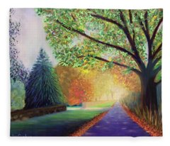 Topstone Road Fleece Blanket
