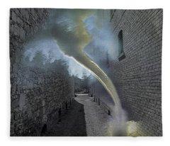 Tornado Alley 1 Fleece Blanket