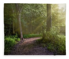Towards The Light Fleece Blanket