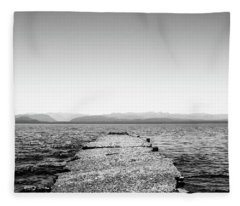 Towards The Nahuel Huapi Lake Fleece Blanket