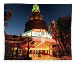 Tower Theater- Fleece Blanket