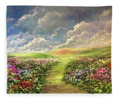 Transcend To Dreams Fleece Blanket