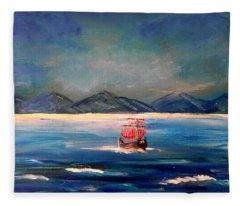 Treasure Island Fleece Blanket