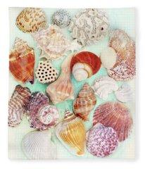 Treasures From The Sea  Fleece Blanket