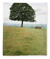 Tree Collection 11 Fleece Blanket