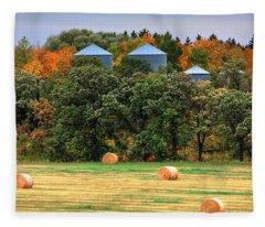 Tree Colours Fleece Blanket