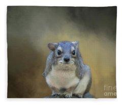 Tree Hyrax Fleece Blanket