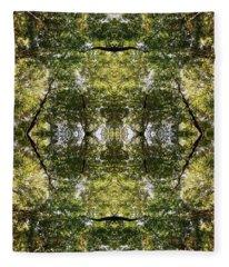 Tree No. 14 Fleece Blanket