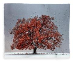 Tree Of Life Fleece Blanket