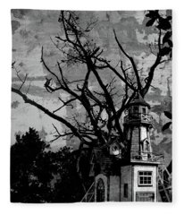 Treehouse I Fleece Blanket