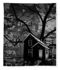 Treehouse II Fleece Blanket