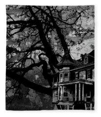Treehouse IIi Fleece Blanket