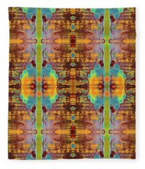 Tribal Dreams Fleece Blanket