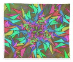 Trigonometry Fleece Blanket