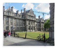 Trinity College Ireland Fleece Blanket