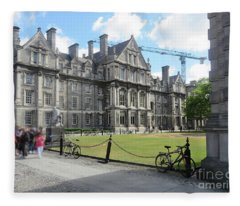 Trinity College Ireland Fleece Blanket