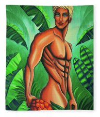 Tropic Beauty Fleece Blanket