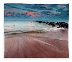 Tropic Sky Fleece Blanket