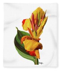 Tropical Bouquet-flower One Fleece Blanket