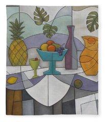 Tropical Delights Fleece Blanket