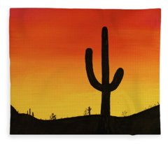 Truth Or Consequences Fleece Blanket