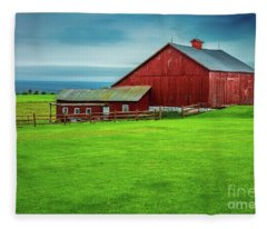 Tug Hill Farm Fleece Blanket